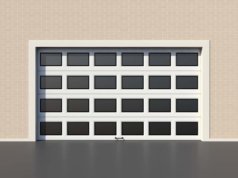 What are the types of garage doors?