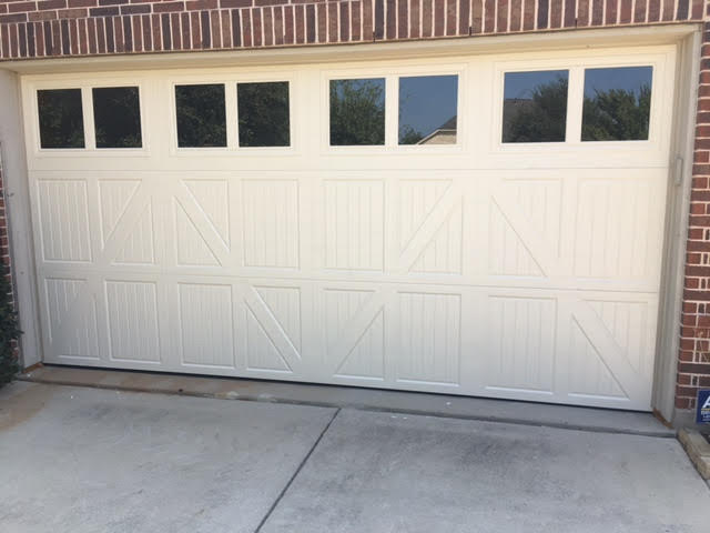 What is included in a garage door tune up?